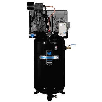 Industrial Air IV7518075 7.5 HP 230V 80 Gallon Baldor Industrial Vertical Stationary Air Compressor Sale $1917.99 SKU: idaniv7518075 ID# IV7518075 UPC# 846212008379 :