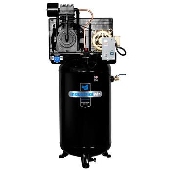 Industrial Air IV7568075 7.5 HP 460V 80 Gallon Baldor Powered Vertical Stationary Air Compressor Sale $2087.99 SKU: idaniv7568075 ID# IV7568075 UPC# 846212024041 :