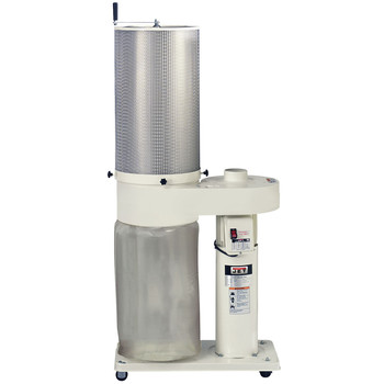 JET 708642CK 1 HP 650 CFM Dust Collector with Canister
