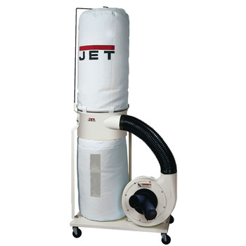 JET 708657K Vortex Dust Collector 1.5HP 1PH 115/230V30-Micron Bag Filter Kit