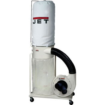 JET 708658K Vortex Dust Collector 1.5HP 1PH 115/230V5-Micron Bag Filter Kit