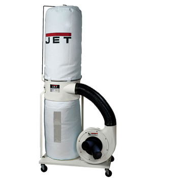 JET 710701K Vortex Dust Collector 2HP 1PH 230V30-Micron Bag Filter Kit