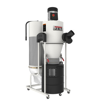 JET 717515 115V 1.5 HP 1PH Cyclone Dust Collector