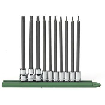 GearWrench 80588 10-Piece Long TORX Bit Socket Set