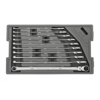 GearWrench 86126 120XP 10-Piece XL Flex GearBox Metric Universal Spline Ratcheting Wrench Set