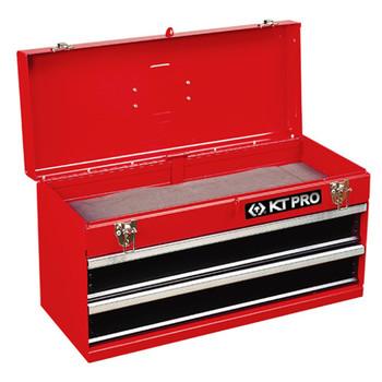 KT PRO B87401-2 2 Slide Drawer Portable Tool Chest