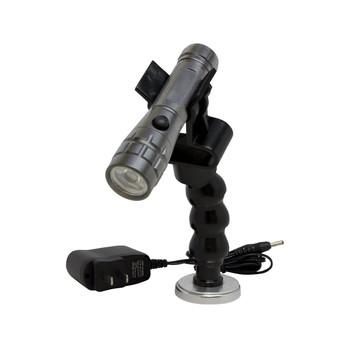 Lisle 70340 Rechargeable Led Flashlight With Flexible Magnetic Holder