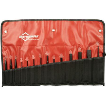 Mayhew 61020 20-Piece Punch and Chisel Kit