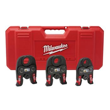 Milwaukee 49-16-2696 M18 3-Piece Black Iron Press Jaw Set