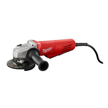 Milwaukee 6146-830 4-1/2 in. 11.0 Amp Paddle Switch Grinder with Lock-On Button and Electronic Clutch