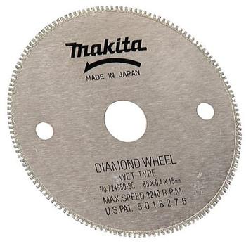 Makita 724950-8D 3-3/8 in. Wet/Dry General Purpose Diamond Wheel Blade