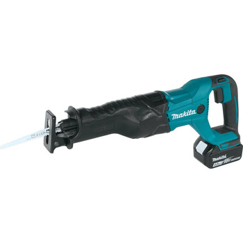 Makita XRJ04M LXT 18V 4.0 Ah Cordless Lithium-Ion Reciprocating Saw Kit
