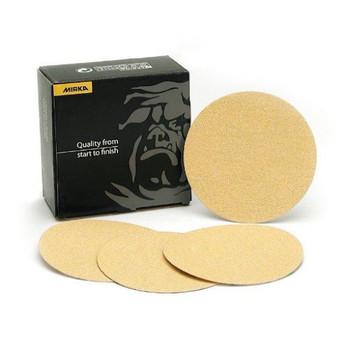 Mirka 23-352-036 Mirka 23 Series Gold 8 in. Heavy Duty Disc, P36-Grit, E-Weight Backing