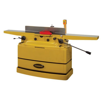 Powermatic 1610082 8 in. 1-Phase 2-Horsepower 230V Parallelogram Jointer With Helical Cutterhead
