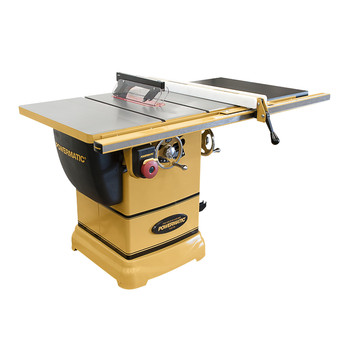 Powermatic 1791000K 1-3/4 HP 10 in. Single Phase 115V Left Tilt Table Saw with 30 in. Accu-Fence System