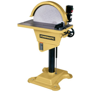 Powermatic 1791276 20 in. 1-Phase 2-Horsepower 230V Disc Sander