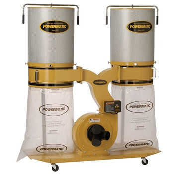 Powermatic 1792072K Dust Collector, 3HP 1PH 230V, 2-Micron Canister Kit