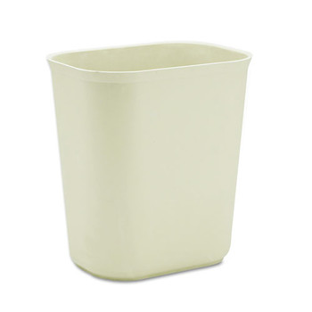 Picture of Rubbermaid 254100BG 35 Gal Fire-Resistant Wastebasket Beige