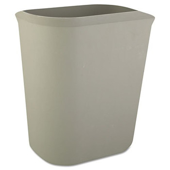 Picture of Rubbermaid 2541GRA 35 Gal Fire-Resistant Wastebasket Gray