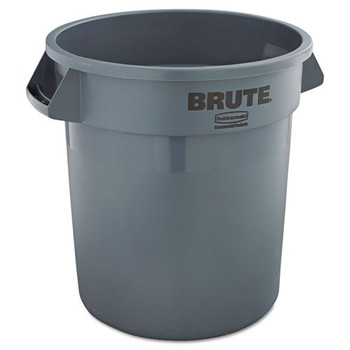 Picture of Rubbermaid 2610GRA 10 Gal Round Brute Container Gray