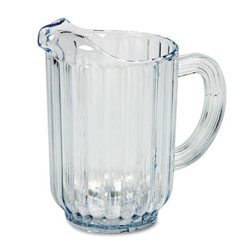 Picture of Rubbermaid 333800CR 60 oz Bouncer Plastic Pitcher Clear