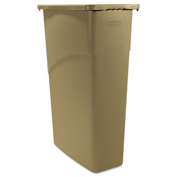Rubbermaid 354000BG 23 Gal. Slim Jim Waste Container (Beige)