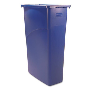 Rubbermaid 3540BE 23 Gal. Slim Jim Recycling Container (Blue)