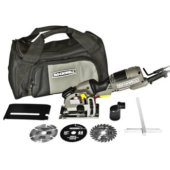 Rockwell RK3440K VersaCut 4.0 Amp Mini Circular Saw Kit with Laser