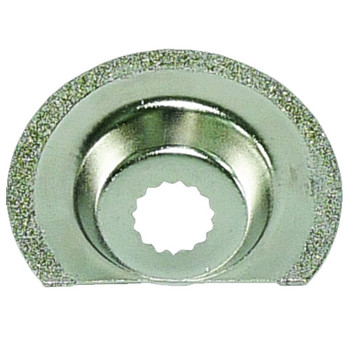 Rockwell RW8926 Sonicrafter 2 - 1/ in. Diamond Coated Semi-Circular Saw Blade
