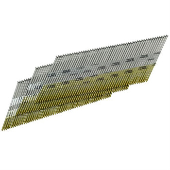 SENCO DA17EABN 15-Gauge 1-1/2 in. Electro-Galvanized 34 Degree Finish Nails (4,000-Pack)