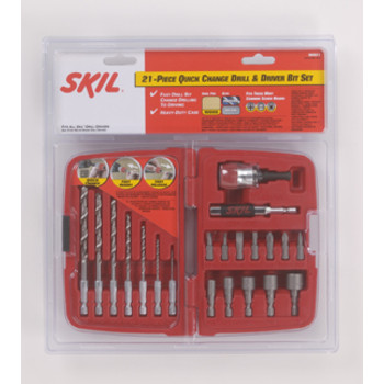 Skil 90921 21-Piece Quick Change Drill/Drive Bit Set