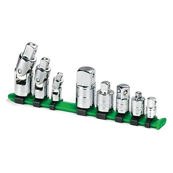 SK Hand Tool 4518 8-Piece 1/2 in. Drive Universal Chrome Adapter Socket Set