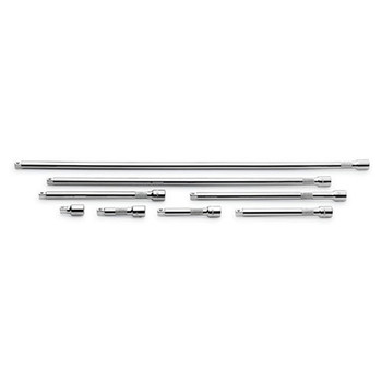 SK Hand Tool 4538 8-Piece 3/8 in. Drive Extension Set