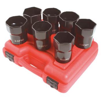 Sunex Tools 2847 7-Piece 1/2 in. Drive Wheel Bearing Lock Nut Set