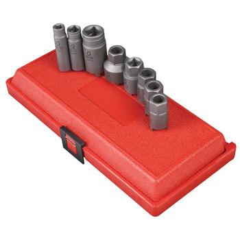 Sunex Tools 3921 8-Piece Antenna & Mirror Maintenance Socket Set