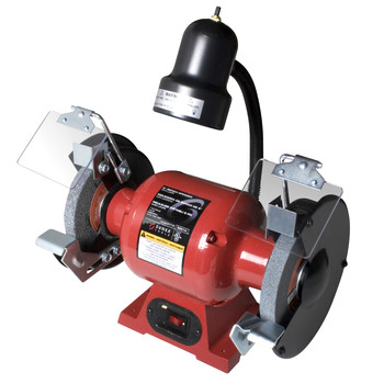 Sunex Tools 5001A 3.5 Amp 6 in. Dual Bench Grinder with Light