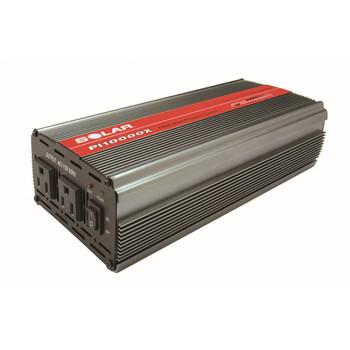 SOLAR PI-10000X 1,000 Watt Dual Outlet Power Inverter Sale $129.99 SKU: solnpi-10000x ID# PI-10000X UPC# 10271021512 :