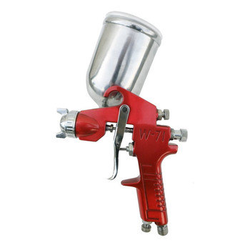 SPRAYIT SP-352 1.5mm Gravity Feed Spray Gun with Aluminum Swivel Cup