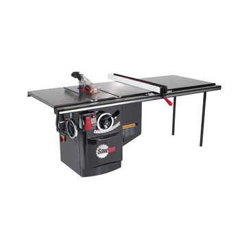 SawStop ICS53230-52 230V Three Phase 5 HP 13 Amp Industrial Cabinet Saw with 52 in. T-Glide Fence System