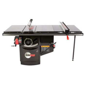 SawStop ICS73230-36 230V Three Phase 7.5 HP 17.8 Amp Industrial Cabinet Saw with 36 in. T-Glide Fence System
