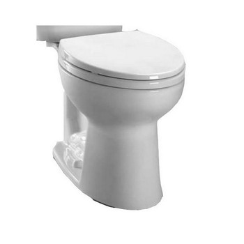 Picture of TOTO C244EF-12 Entrada Elongated Floor Mount Toilet Bowl Sedona Beige