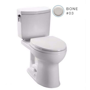 Picture of TOTO C454CUFG-03 Drake Elongated Floor Mount Toilet Bowl Bone