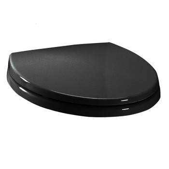 TOTO SS114-51 SoftClose Elongated Polypropylene Closed Front Toilet Seat & Cover (Ebony)
