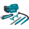 Makita XLC07SY1 18V LXT Compact Lithium-Ion Cordless Handheld Canister Vacuum Kit (1.5 Ah) image number 2