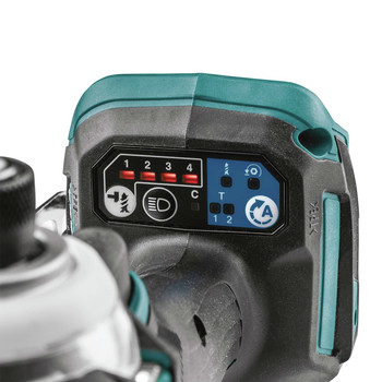 Makita XDT16T 18V LXT Lithium-Ion Brushless Cordless Quick-Shift Mode 4-Speed Impact Driver Kit (5 Ah) image number 6