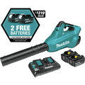 Makita XBU02PT1 18V X2 (36V) LXT Lithium-Ion Brushless Cordless Blower Kit with 4 Batteries (5.0Ah) image number 2