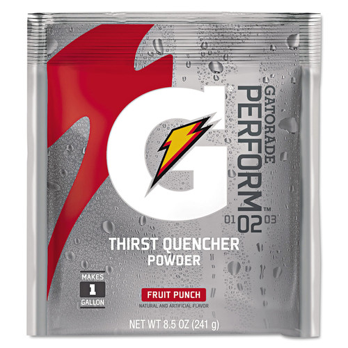 Gatorade 03808 Original Powdered Drink Mix, Fruit Punch, 8.5oz Packets, 40/Carton image number 0
