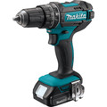 Makita XPH10R 18V Lithium-Ion Compact Variable 2-Speed 1/2 in. Cordless Hammer Drill Driver Kit (2 Ah) image number 1