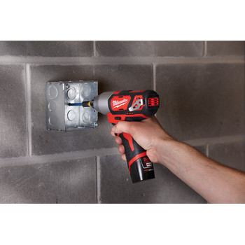 Milwaukee 2462-22 M12 12V Cordless Lithium-Ion 1/4 in. Hex Impact Driver Kit image number 8