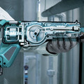 Makita GRJ01Z 40V Max XGT Brushless Lithium-Ion 1-1/4 in. Cordless Reciprocating Saw (Tool Only) image number 6